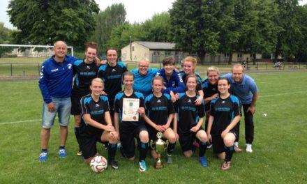 Wittenburgerinnen feiern Kreismeistertitel