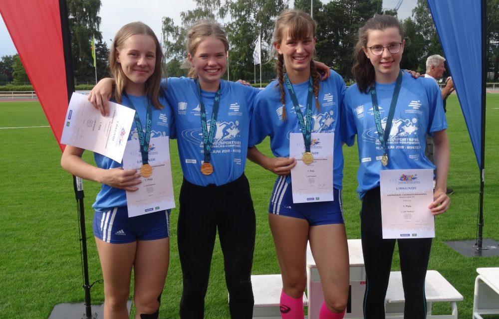 Stimmungsvolle Jugendspiele und top Leistungen in der Leichtathletik