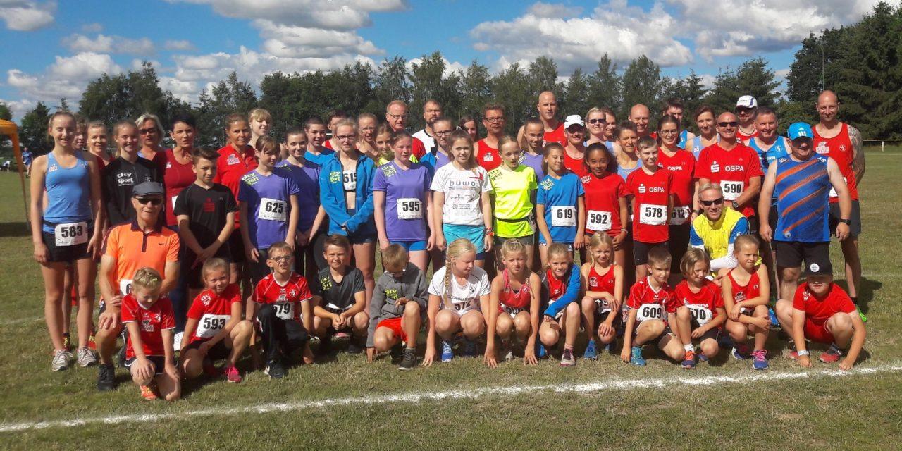 60 Laager Ausdauersportler starteten beim Cuplauf in Steinhagen