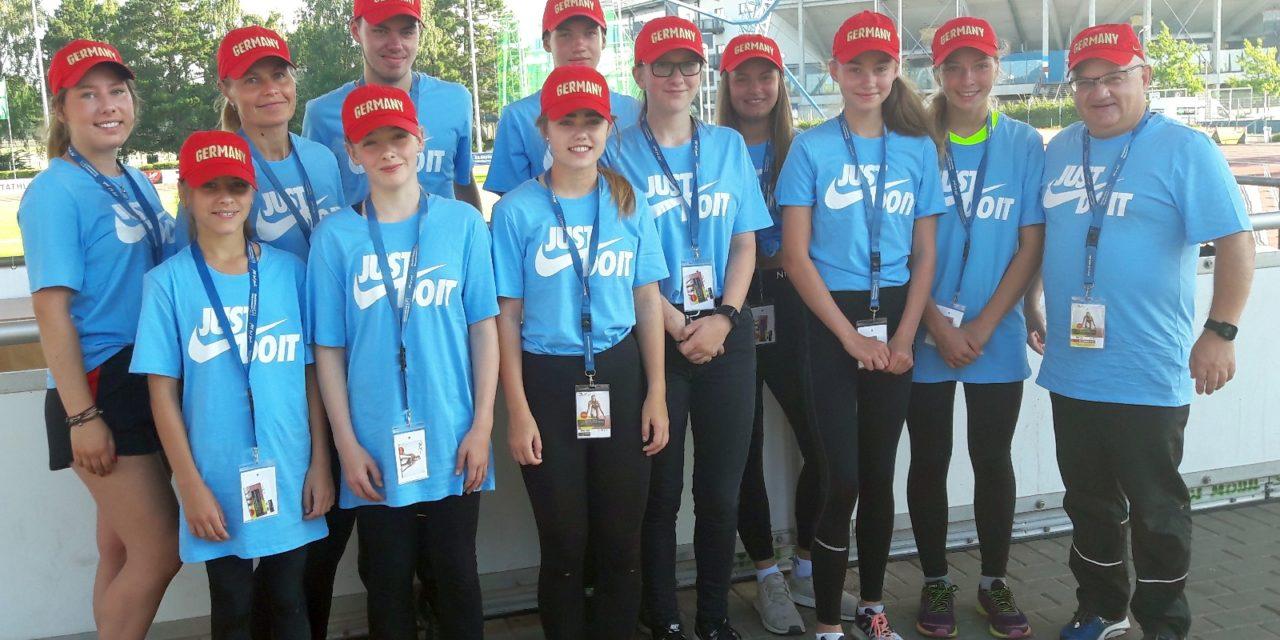 Laager Sportler unterstützten die Deutschen Jugendmeisterschaften in Rostock