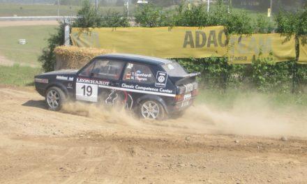 Klasse-Besetzung beim Auto-Rallye-Sprint am Bergring