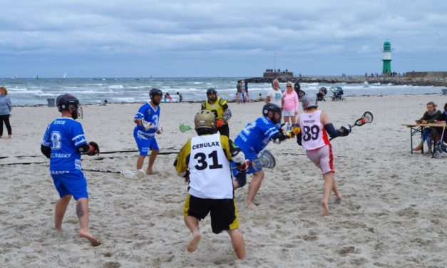"Strand, Meer und Lacrosse: Das 5. ""LAX at the Beach"""