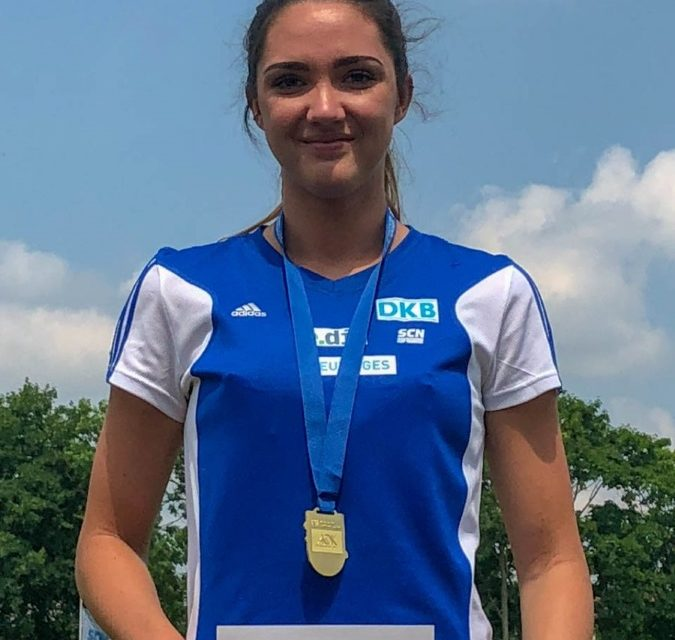 Sophie Weißenberg gewinnt Gold bei U23-DM