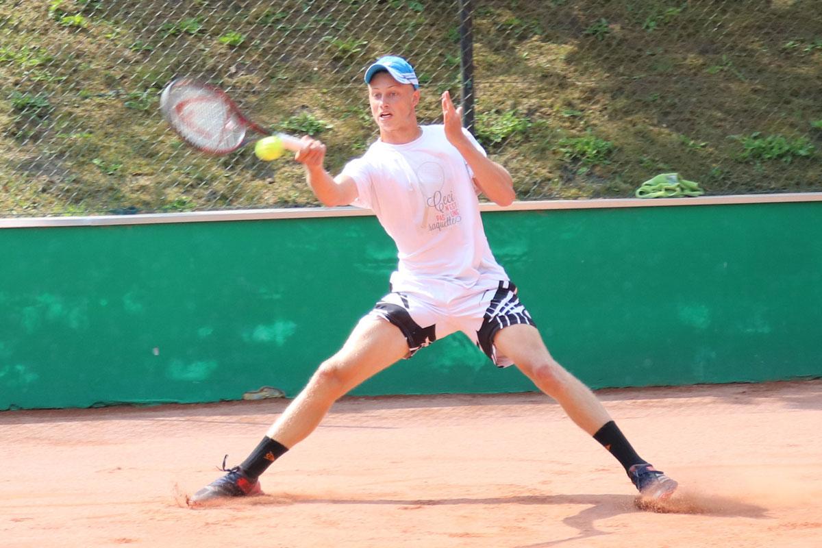 Er war bei den Herren nicht zu schlagen: Tim Fischer, die Nummer 419 der deutschen Rangliste
