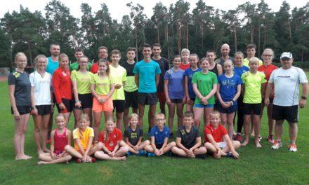 Trainingslager der Laager Laufgruppe war ein Event