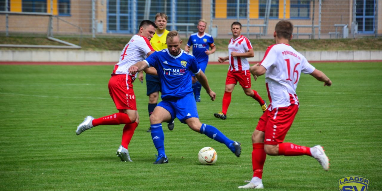 Laager SV : Penkuner SV Rot Weiß 3 : 5 (2:2)