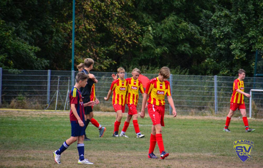C-Jugend verliert 2:3 gegen die SG Bargeshagen/Parkentin
