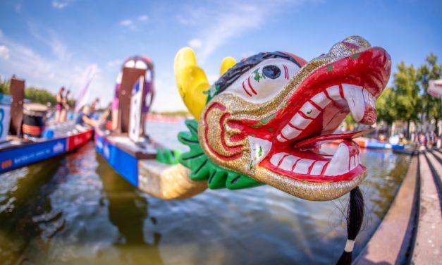 Erste Zwischenbilanz beim 27. Drachenbootfestival am Pfaffenteich