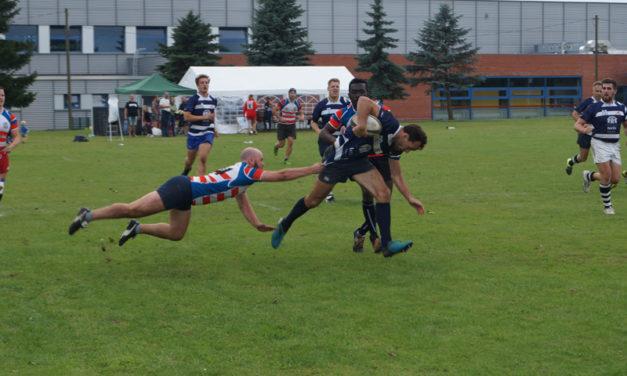 Zwölftes internationales Rugbyturnier zur Hanse-Sail