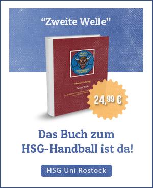 """""""Zweite Welle"""" - Das Buch zum HSG-Handball ist da!"""
