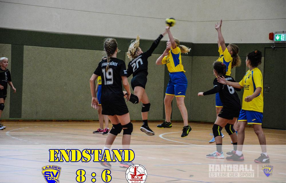 Heimsieg der LSV Handball-Mädels