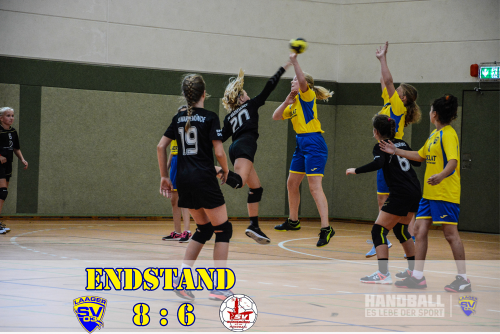 Laager SV 03 Handball wJD - SV Warnemünde (1)