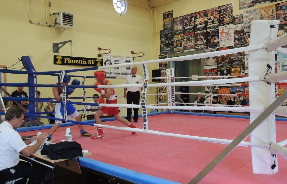 Kinder- und Jugendsportspiele: Box-Turnier in Stralsund