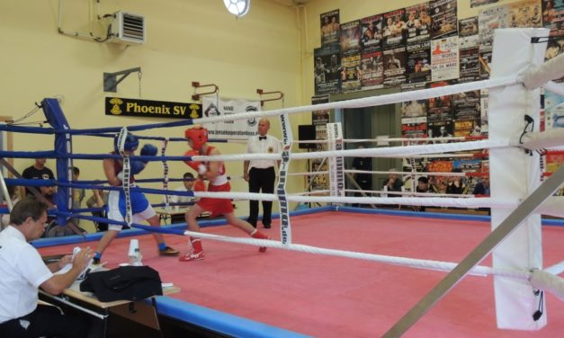 Kinder- und Jugendsportspiele: Box-Turnier in Stralsund