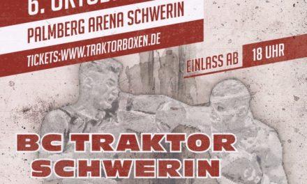 Box-Kracher: BC Traktor gegen Irland in Schwerin