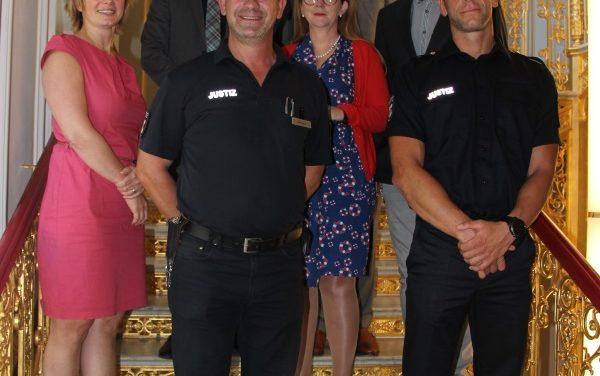 Waldecker Justizvollzugsbedienstete gewinnen Volleyballmeisterschaft