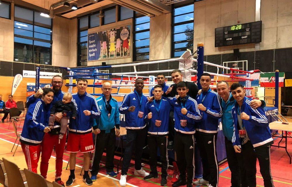 Acht Boxer vom Boxclub TRAKTOR bei den U21 Deutschen Meisterschaft