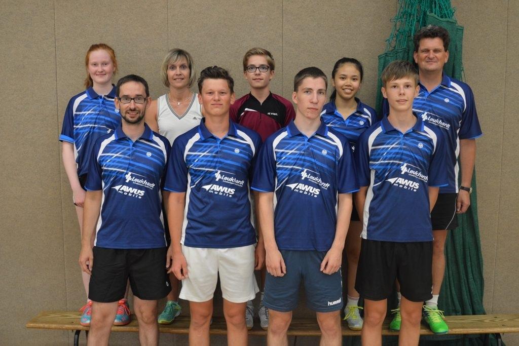Die 2. Mannschaft des BSC 95 Schwerin schlug in der Saison 2018/2019 wieder in der Landesklasse auf. © Badminton-Sport-Club 95 Schwerin
