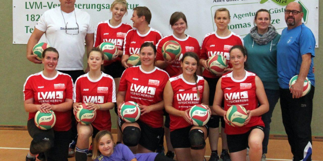 Fulminanter Start der Volleyballdamen in die neue Saison