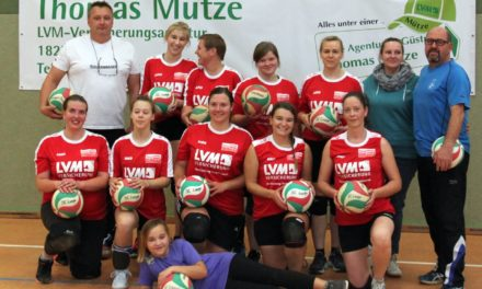 Fulminanter Start der Volleyballdamen in die neue Saison