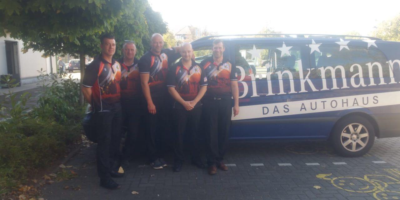 Die Herren des Bowlingclubs Schwerin on Tour.