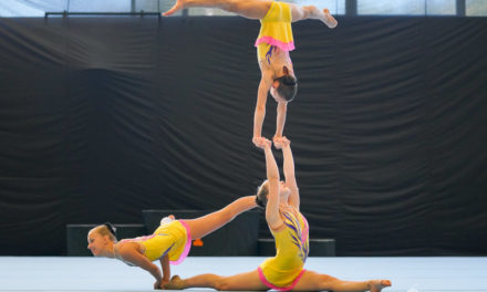 VfL-Sportakrobatinnen nur knapp an Bronze vorbei