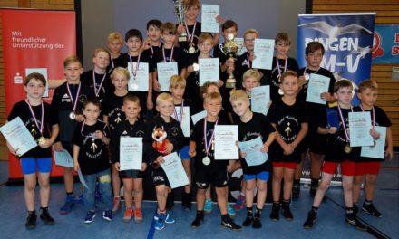 Stralsunder Ringer überzeugten beim Strelasund Pokal