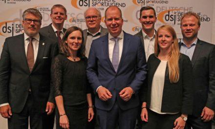 Jan Holze einstimmig als dsj-Vorsitzender bestätigt