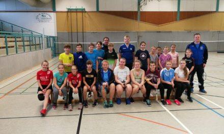 Ein Erfolg: Badminton Aktionstag in Dorf Mecklenburg