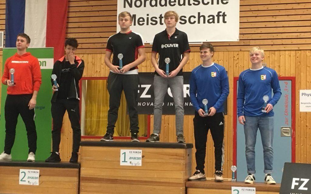 Zwei Norddeutsche Meistertitel für Schwerin