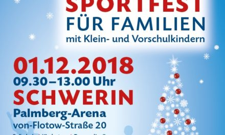 Sportjugend M-V lädt zum 1. Öffentlichen Nikolaussportfest