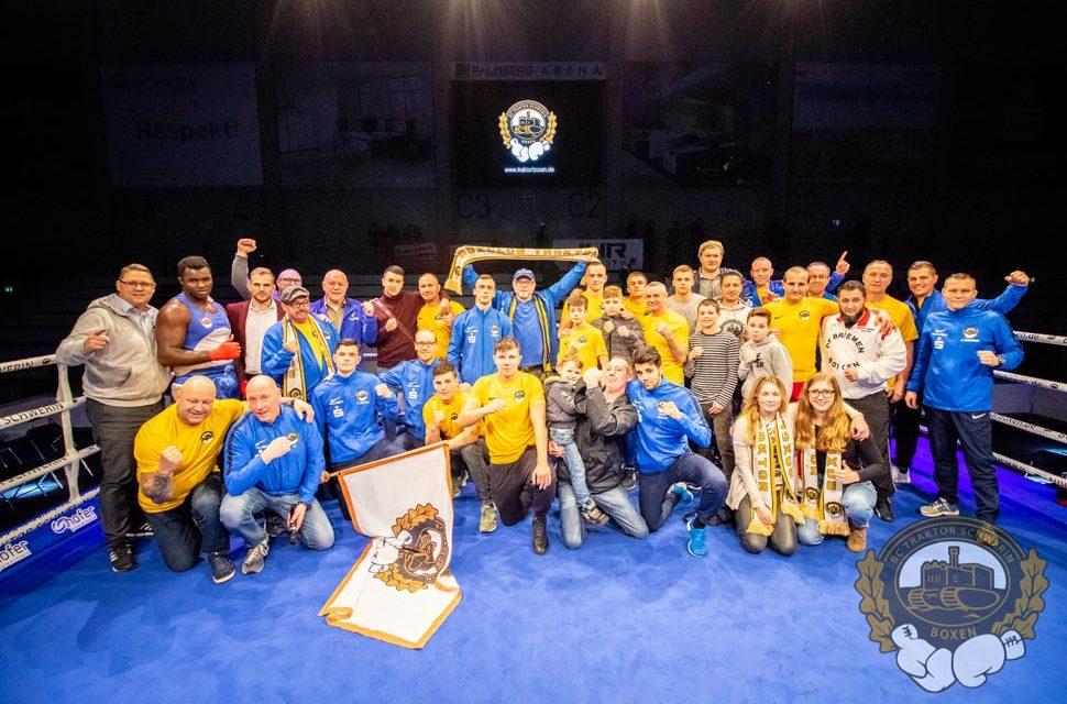 Knappe Heim-Niederlage für Schweriner Boxer
