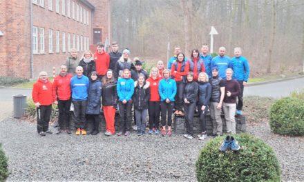 Es geht wieder los – Laufjahr beginnt mit Trainingslager