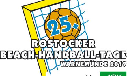 25. Beach-Handball-Tage 2019 nahen