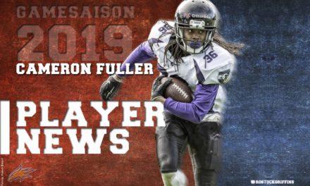 Griffins verpflichten erstmals ehemaligen NFL-Spieler