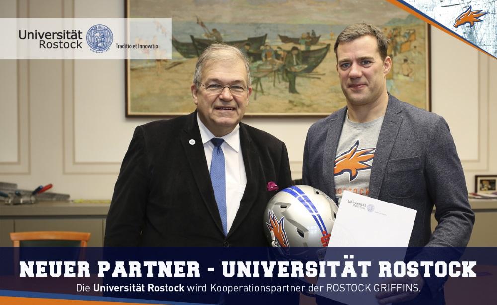 Universität Rostock und die Griffins kooperieren
