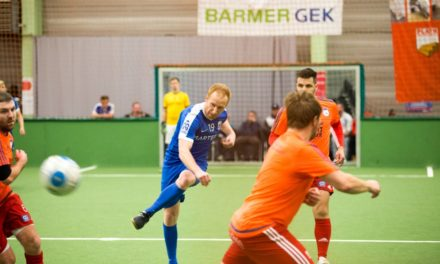 Fußball als Zeichen gegen Blutkrebs