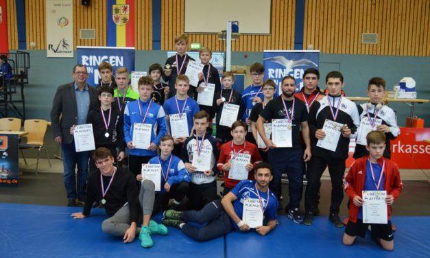 Norddeutsche Meisterschaften der Ringer in Lübtheen