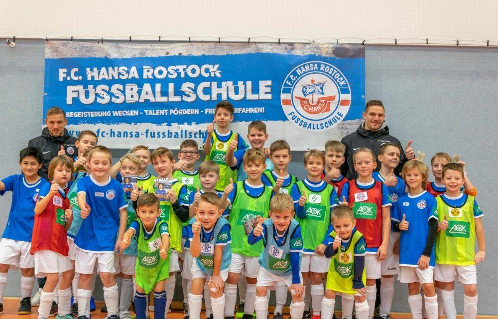 Teilnehmerrekord: Über 1.000 Kids in den Feriencamps der F.C. Hansa-Fußballschule