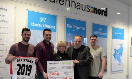 DKMS Hallenmasters spielt 14.000 EUR ein