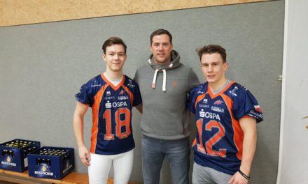 Spieler der Rostock Griffins studieren an der Universität Rostock