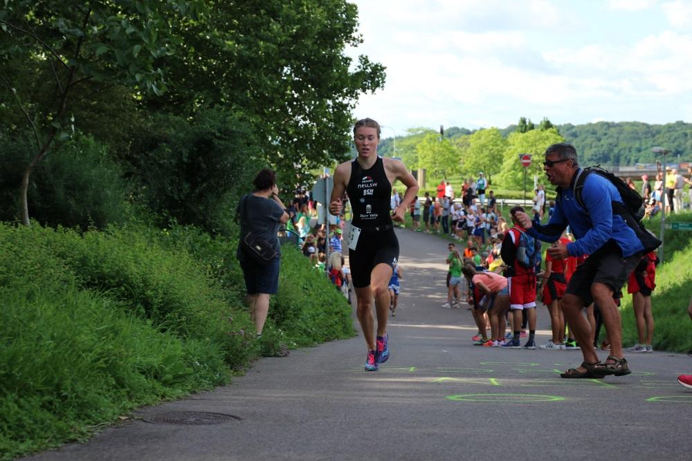 Triathletin Lena Meißner - FOTO: SCN