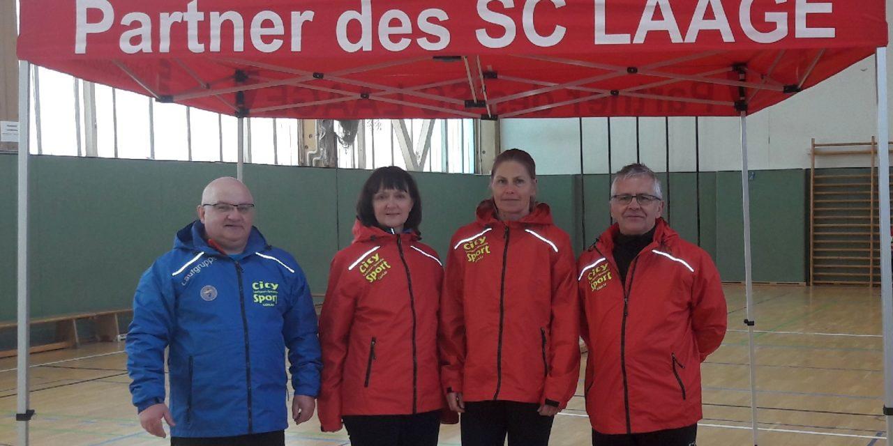 Trainerteam der Laufgruppe überrascht