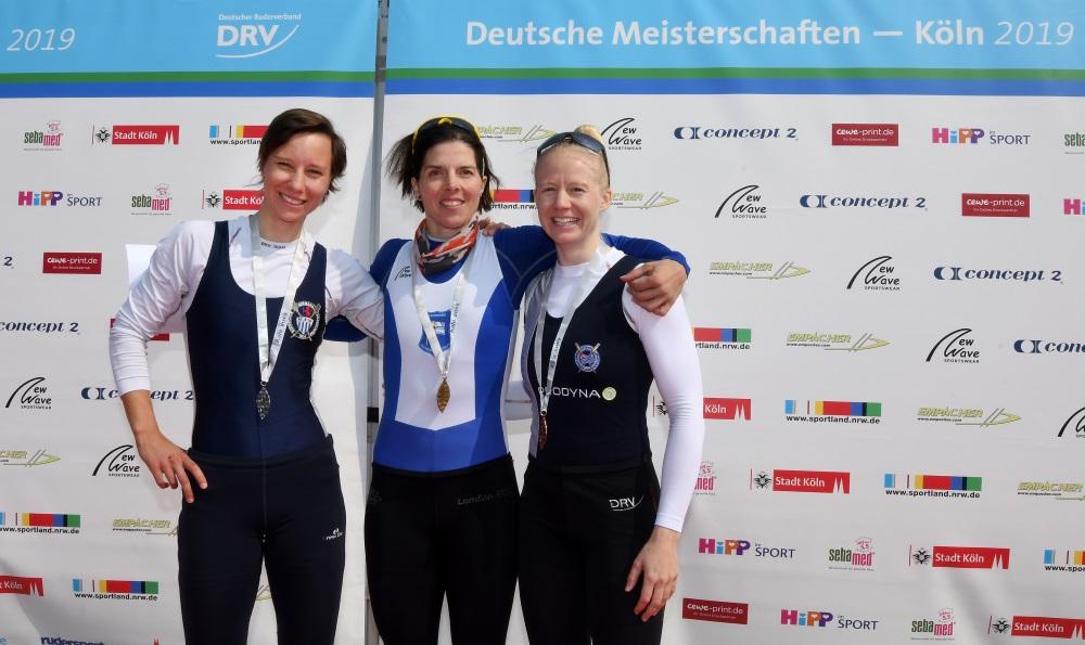 Deutsche Kleinbootmeisterschaften – Dräger mit Sieg im Leichtgewichts-Einer