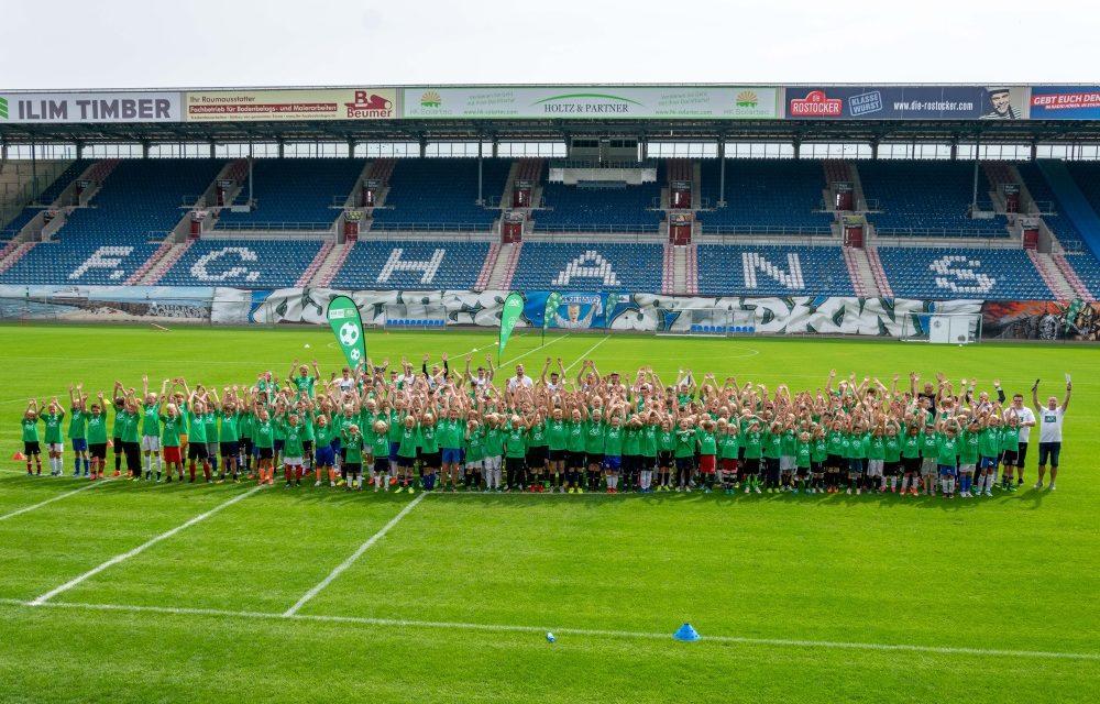 Jubiläum: 10. AOK-Jugendtrainingstag im Ostseestadion
