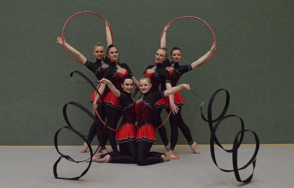 Neubrandenburger Gymnastinnen überzeugten