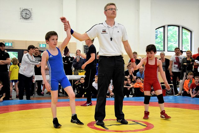 Fünf Medaillen bei den Mitteldeutschen Meisterschaften im Ringen