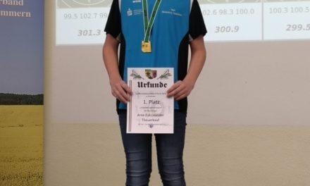 """Medaillienregen für die jungen Sportschützen des SV """"Vier Tore"""""""