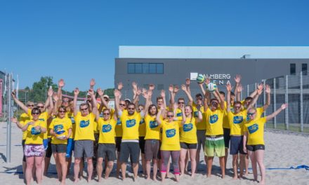 #gemeinsambeachen – Eröffnung der Beachsaison