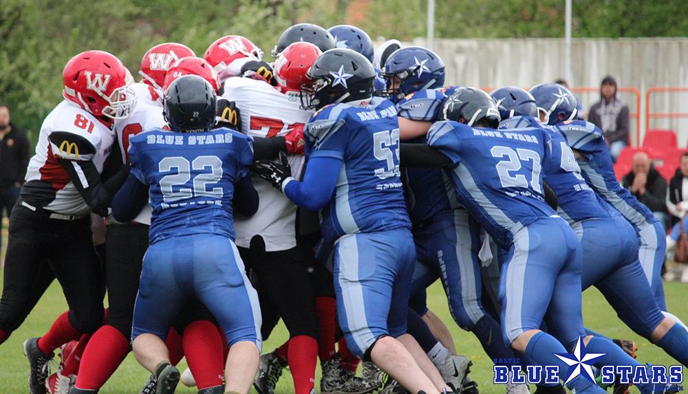 Blue Stars gewinnen in Eberswalde